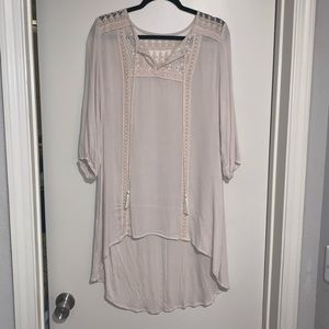 Lace High-low Dress/Top